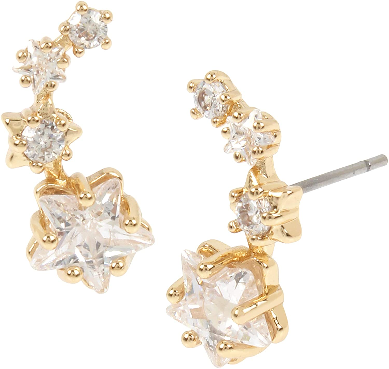 Betsey Johnson Shooting Star Earrings