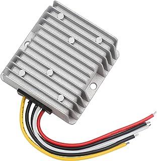 Car Voltage Regulator Module, DROK DC 10V-40V to DC 5V 15A Power Supply Step Down Transformer 12V 24V 75W Waterproof Autom...