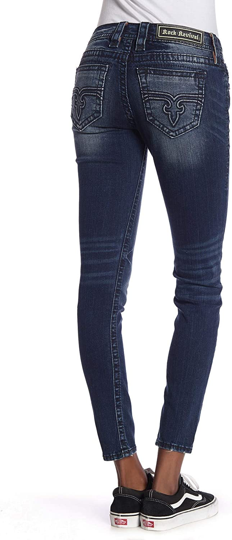 Rock Revival - Womens Julee Mid-Rise Skinny Jeans