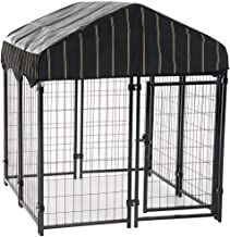 Lucky Dog Pet Resort Kennel with Cover (52