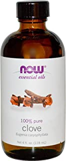 Now Foods Clove Oil, 4 OZ (Pack of 4)