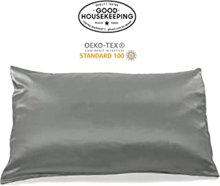 Fishers Finery 19mm Luxury 100% Pure Mulberry Silk Pillowcase Good Housekeeping Quality Tested