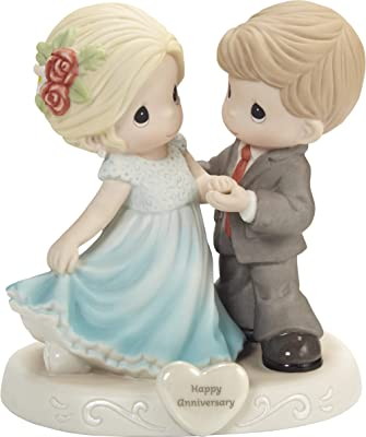 Precious Moments 202005 You Make Life Beautiful Bisque Porcelain Figurine, One Size, Multicolored