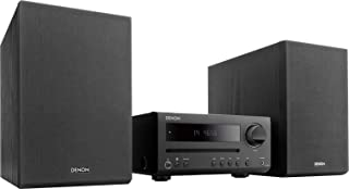 Denon D-T1 - Microcadena con Lector CD y Bluetooth, Color Negro