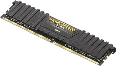 CORSAIR Vengeance LPX CMK8GX4M1A2666C16 8GB (1x8GB) DDR4 DRAM 2666MHz C16 Memory Kit - Black