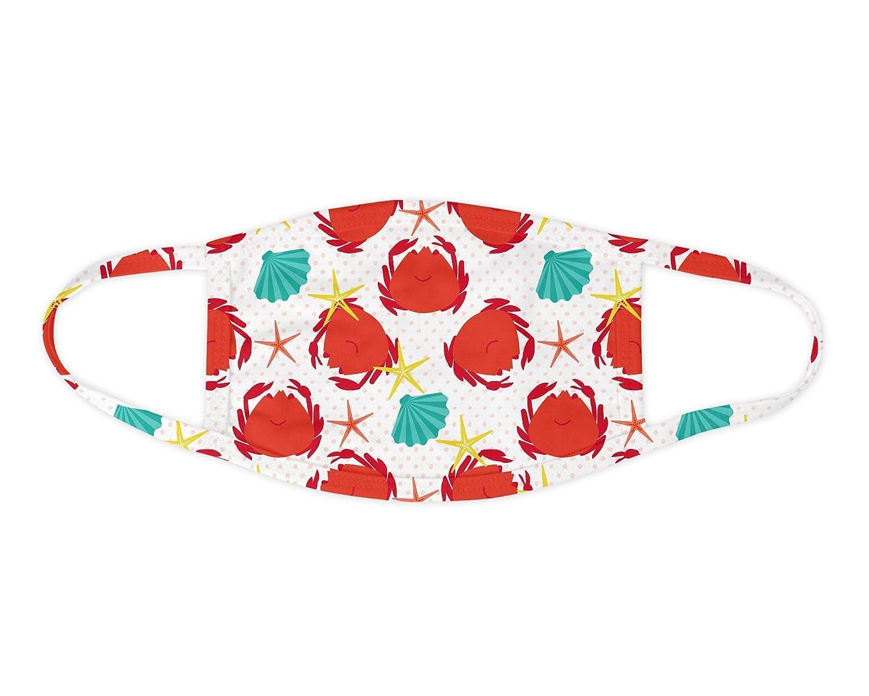 Max 45% OFF Regular dealer Crab Seashell Face Washable Mask Covering