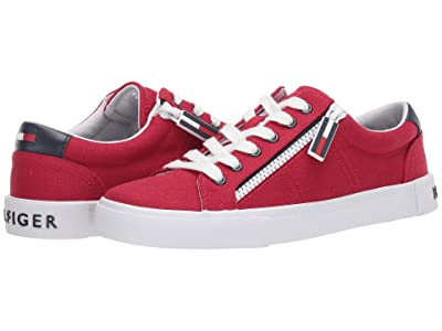 Tommy Hilfiger Paskal 2 (Red Multi Fabric) Women