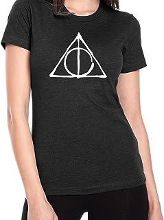 d7e71b55 Ilion Clothing Co Harry Potter Women's Deathly Hallows Jr. Fit T-Shirt