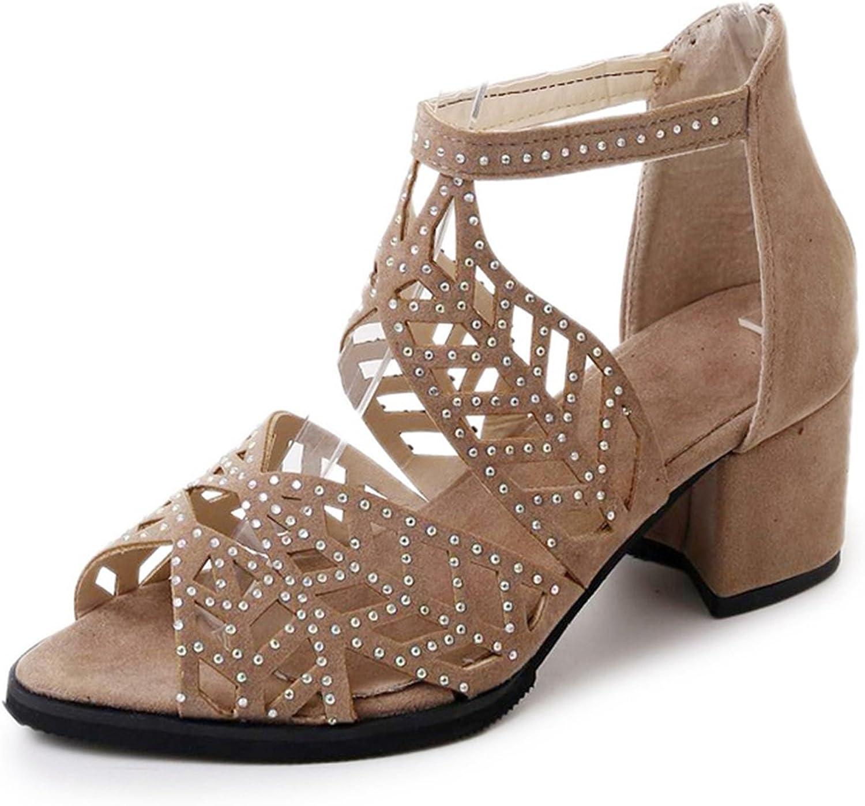 Summer Flat Slope Roman Sandals Schoolgirl Bohemia Softsol Sandals Mid-Heeled shoes XIAOQI