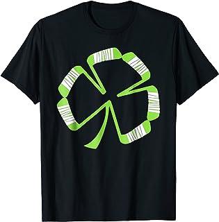 St Patrick's Hockey Shamrock T Shirt Gift Women Men Kids