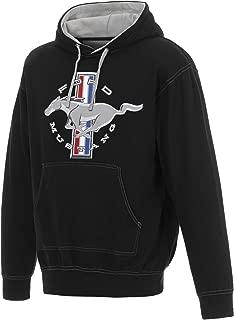 JH DESIGN GROUP Men's Ford Mustang Pullover Hoodie a Logo Sweatshirt