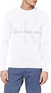 Calvin Klein Men's Hicus True Icon Cn Hknit Ls Sweatshirt