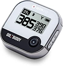 $109 » Golf Buddy AIM V10 Golf Laser Rangefinder Bluetooth Golf GPS devices for Hat, Golf distance Range Finder for Golfers, 14 H...