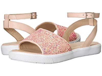 Elephantito Penelope Sandal (Toddler/Little Kid/Big Kid) (Pink Glitter) Girls Shoes