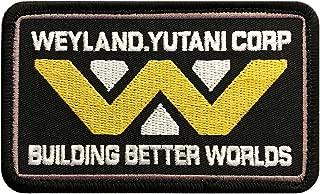 Bundle 2pc-Hook Backing Alien Movie U.S.C.S.S Nostromo Dark NVY Weyland Yutani Patch