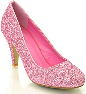 cdb7ed98289 Amazon.co.uk: Pink - Court Shoes / Women's Shoes: Shoes & Bags