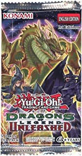 Yugioh 1x Dragons of Legend Unleashed Booster Pack