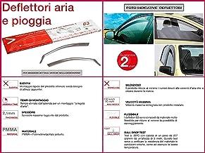 4 Deflettori Aria Antiturbo RENAULT  CLIO IV 2012-2019 5 porte