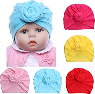 Newborn Baby Knot Hat Nursery Beanie Hospital Hat Cotton Head Wrap Baby Hat Head Cap