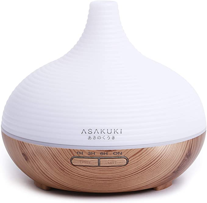 Home & Kitchen Aimado Wood Grain Office Home Aroma Essential Oil ...