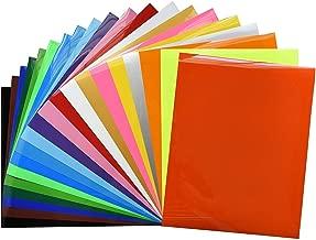 Fame Crafts Heat Transfer Vinyl Bundle 12