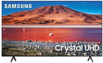 Samsung 43-inch TU-7000 Series Class Smart TV   Crystal UHD - 4K HDR - with Alexa Built-in   UN43TU7000FXZA, 2020 Model (R...