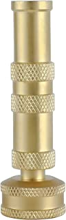 SAIDE High Pressure Sweeper Lead-Free Adjustable Brass Hose Water Nozzles for Organic Gardens, Washing Produce,Car Wash & All Potable Water Needs