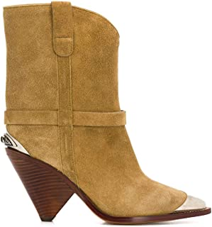 Isabel Marant Luxury Fashion Womens BO019420P009S90BE Beige Ankle Boots |