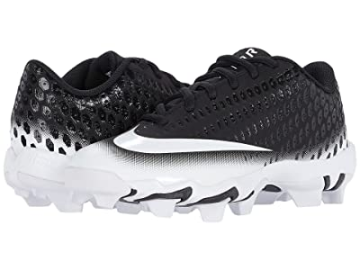 Nike Kids Vapor Ultrafly 2 Keystone Baseball (Todder/Little Kid/Big Kid) (Black/White/White) Kids Shoes