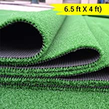 TIED RIBBONS High Density Artificial Grass Carpet Mat for Home, Balcony, Lawn, Patio,Garden Artificial Turf(6.5 ft X 4 ft)