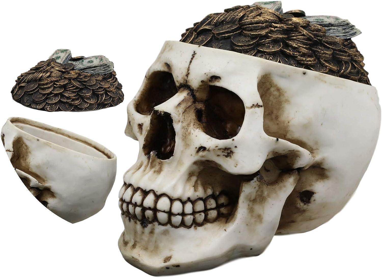 Ebros Day Regular store of The Dead Ossuary Inexpensive Human Evil Grinning Cranium Skull