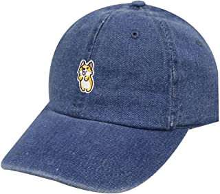 City Hunter C104 Cute Welsi Corgi Cotton Baseball Dad Caps 26 Colors