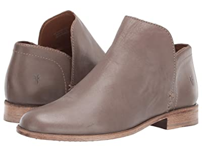 Frye Elyssa Shootie (Grey Waxed Full Grain) Women