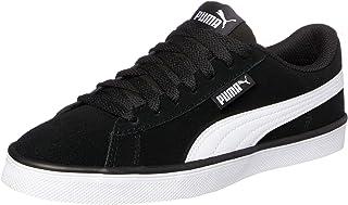 PUMA Women's Urban Plus Sd Blk-wht Shoes, Black White