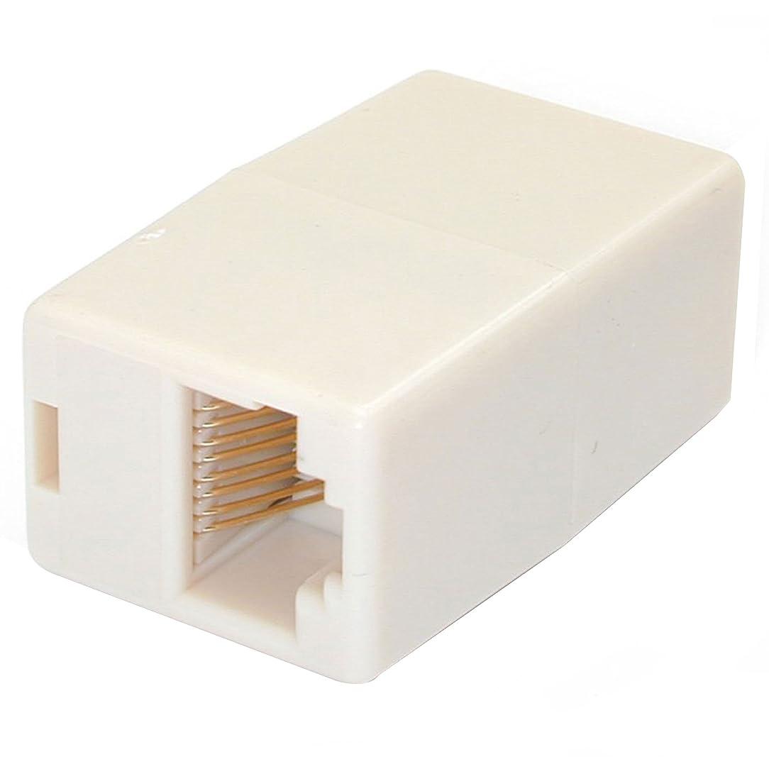 StarTech.com Cat5e RJ45 Modular Inline Coupler - Modular Inline Coupler - Ethernet Coupler - cat5e Coupler