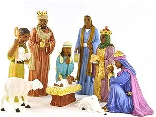 Best large black nativity sets Reviews