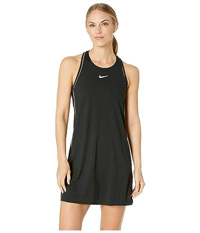 Nike Court Dry Dress (Black/White/White/Black) Women