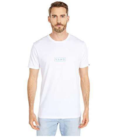 Vans Easy Box Short Sleeve T-Shirt (White/Canton) Men
