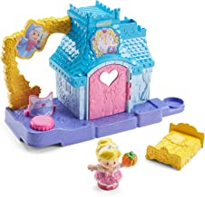 Fisher-Price Little People Disney Princess, Cinderella's Helpful Friends Home Playset