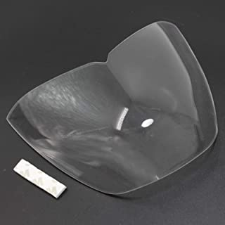 Motorcycle Front Headlight Lens Screen Cover Protector Guard for Yamaha MT 03 MT-03 FZ-03 MT03 FZ03 2015 2016 2017 2018 (Clear)