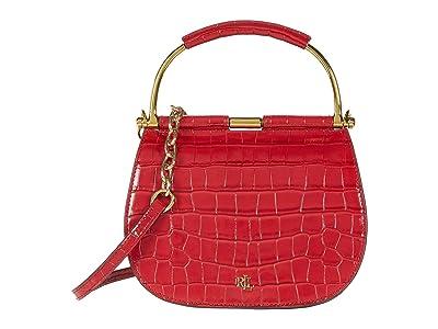 LAUREN Ralph Lauren Mason 20 Crossbody (RL 2000 Red) Handbags