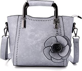 JOSEKO Handtasche Damen Schultertasche Handtaschen Tragetasche Damen Groß Designer Elegant Umhängetasche Henkeltasche Set ...