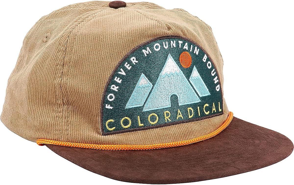 Coloradical F.M.B. Corduroy Snapback Hat (Brown)