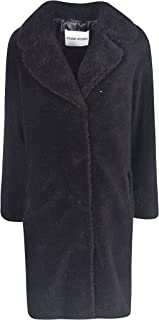 STAND Luxury Fashion Womens 60664CAMILLE8990 Black Coat   Fall Winter 19