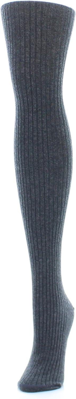 MeMoi Boston Ribbed Sweater Tights