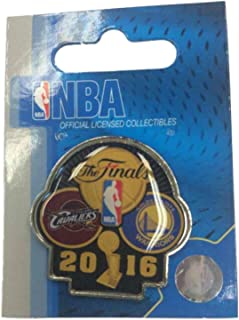 aminco Cleveland Cavaliers Golden State Warriors 2016 NBA Finals Dueling Teams Pin