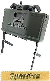 SP製 MR02 6mm BB弾専用 レーザー検出 M18A1 クレイモア 地雷 メタル/プラスチック製 - ゴールド【SportPro クリーニングクロス付】