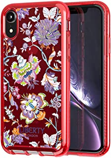 Tech21 Pure Print Liberty Christelle Phone Case for Apple iPhone XR - Red