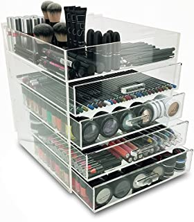 OnDisplay 5 Tier Acrylic Cosmetic/Makeup Organizer, Clear