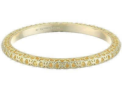 Kendra Scott Maggie Bangle Bracelet (Gold Filigree Metal) Bracelet